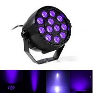 Quality IP33 Voice-control Violet Led Disco Lights with Black + Transparent Cover wholesale