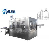 Quality 8000BPH Mineral Water Beverage Bottling Equipment For Round PET Bottle wholesale