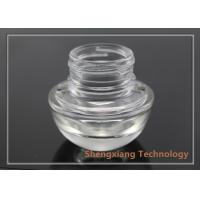 Quality 20g Heart Shaped Face Cream Clear Glass Bottles for Cosmetic Packaging wholesale