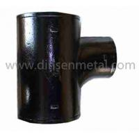 Quality Epoxy coated hubless casting iron pipes tee wholesale