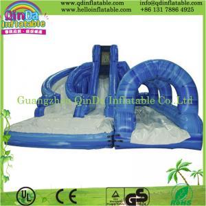 China Spongebob inflatable water slide , Giant Inflatable slide ,Inflatable slide games for sale on sale