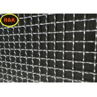 Galvanized Steel Industrial Wire Mesh Anti Corrosion Sturdy Structure