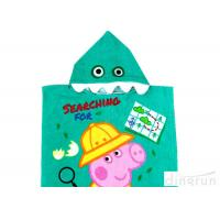 Quality Customized Childrens Towelling Ponchos , Babies Swimming Towels With Hoods 400gsm wholesale