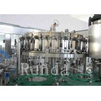 Quality Customized Carbonated Drink Filling Machine 220V Soft Drinks Filling Machine wholesale