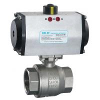 Quality WCB,Stainless Steel, ISO9001,CE, Pneumatic ball valve wholesale