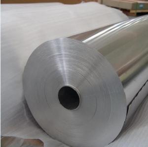 Quality Food Grade Aluminium Foil Raw Material , Catering Aluminum Foil Jumbo Roll wholesale
