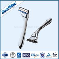 Quality Stainless Steel Clean Shave Razor , Goodmax Sharpest Disposable Razor wholesale