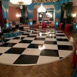 Quality Make led dance floor interactive dance floor white led dance floor led dance floor 30ft black wholesale