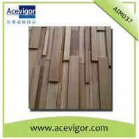 Quality Solid wood mosaic antique wall panel for decoration wholesale