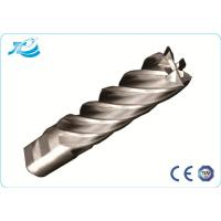 China Diamond Coated End Mills , 6 Flute End Mill for Slotting / Milling on sale