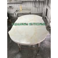 Quality Custom Bathroom Vanity Tops / Marble Vanity Countertops Lightweight And High Strength wholesale
