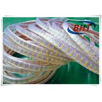 Buy cheap Double Row 220V Led Strip , 12 Ft Led Warm White Tape Light Easy Installation from wholesalers