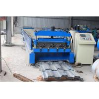 Quality High Strength Floor Deck Roll Forming Machine With 350 Yield Stress Material wholesale