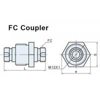 High Precision Fiber Coupler FC Connector With Customized Wavelength