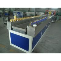 Quality WPC Profile Production Line , Twin Screw Extruder For Baseboard wholesale