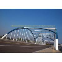 Quality Q235 Q345 Frame Multi Trusses Prefab Steel Frame Bridge With Drawing wholesale
