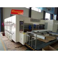 Quality Plastic Sheet Die Cutting Machines Accurate Lateral Movement With Smooth Slotting wholesale