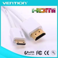 Quality White HDMI Male to Mini Male High Speed HDMI Cable Type A to Type C 1.4 with Ethernet wholesale