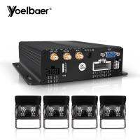 Quality Stable Performance Car DVR Security System 1080P SD MDVR 3G 4G GPS WIFI wholesale