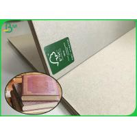 China Hardcover Book Board 1.5mm 1.7mm 3mm Uncoated Grey Paper Board Sheets 100 * 80CM on sale