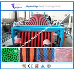 China PVC Anti Slip Mat Making Machine PVC Mat Extrusion Machine Plastic Mat Production Line on sale