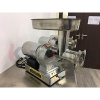 Quality 304 Stainless Steel Electric Meat Grinder with 3 Grinding Plates / Sausage Tubes wholesale
