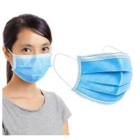 China Fiberglass Free Disposable Face Mask High BFE / PFE With Elastic Earloop on sale
