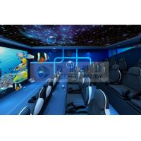 Quality Special Decoration 5D Movie Theater with Customized Movies for Theme Park wholesale