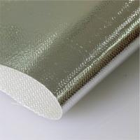 China Aluminum Coated Glass Fiber Cloth Al3732 High Tensile Thickness 0.4mm on sale