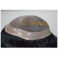Quality strong base fine mono style cheap price china qingdao hair piece,hair replacement  for men wholesale