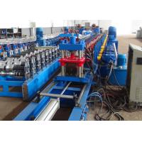 Quality 41 X 41 Solar Strut Channel Roll Forming Machine PLC Controlled With Flying Cutoff wholesale
