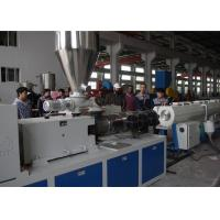 Quality High Capacity Plastic Pipe Extrusion Line , High Speed Extrusion Pvc Pipe Making Machine wholesale
