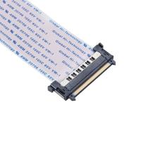 Buy cheap Lock Type Gold Plated LVDS Cable With Connector And Acetate Cloth For LCD Application from wholesalers
