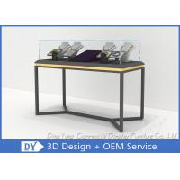 Quality All In One Services Inexpensive Metal Glass Jewelry Display Cases wholesale