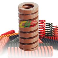China JIS B5012 Standard Super Heavy Load Misumi Brown die Spring CSWB coil spring on sale