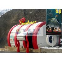 Quality Special Design 5D Simulator With Adventure Movies And Virtual Reality Effects wholesale