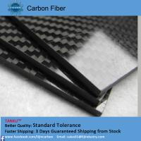 Quality 5.0mm 400mm*500mm high modulus carbon fiber sheeting black color wholesale