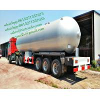 China 60,000L Tri-axles LPG Gas trailer   LPG gas tank trailer  LPGCost Control Built How You Want it Cell: 0086 152 7135 7675 on sale