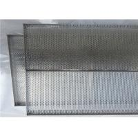 Buy cheap Corrosion Resistance Stainless Steel Perforated Wire Mesh Tray For Oven from wholesalers
