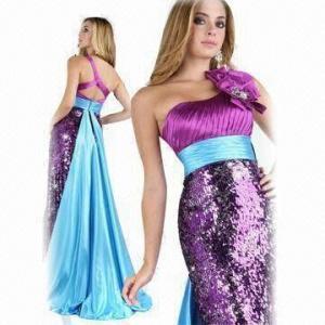 Quality One-shoulder Elegant Prom Dress, 2012 New Arrival wholesale