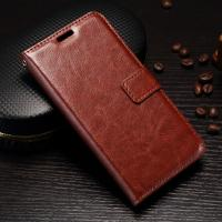 Quality Scrath Resisitant Huawei Y5 Leather Case Crazy Horse With Custom Logo wholesale