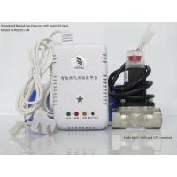 Quality UH household gas leaking detector alarm with solenoid valve wholesale