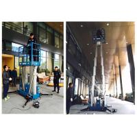 Buy cheap Outdoor 14 Meter Height Electric Scissor Lift Platform For Window Cleaning from wholesalers