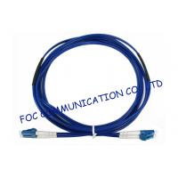 Quality Armored Fiber Optic Patch Cord SM Duplex LSZH LC RoHS Compliant Military wholesale