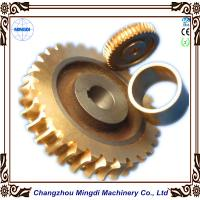 Quality Copper Ra 0.4 - 0.8 Stepper Motor Single Hellical Worm Gear Parts for Worm Gearbox wholesale