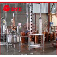 Quality 200L red copper industrial alcohol distillation equipment / machine wholesale