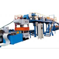 Cheap PLC Continuous PU Sandwich Panel Production Line Material Thickness 0.3 - 0.8mm for sale