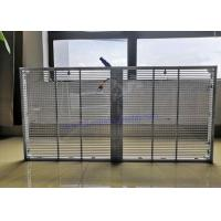 China P10.4 Indoor Transparent LED Video Wall 9246 Dots / Sqm For Window Advertising on sale