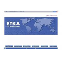 Quality ETKA Electronic Catalogue V7.5 Automotive Scan Tool Software For Audi VW Seat Skoda wholesale