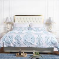 China Custom luxury hotel bedsheets and duvet covers digital printed bedding sets hotel on sale
